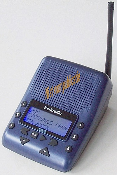 Rivendel kerkradio systeem - Ontvanger x ...